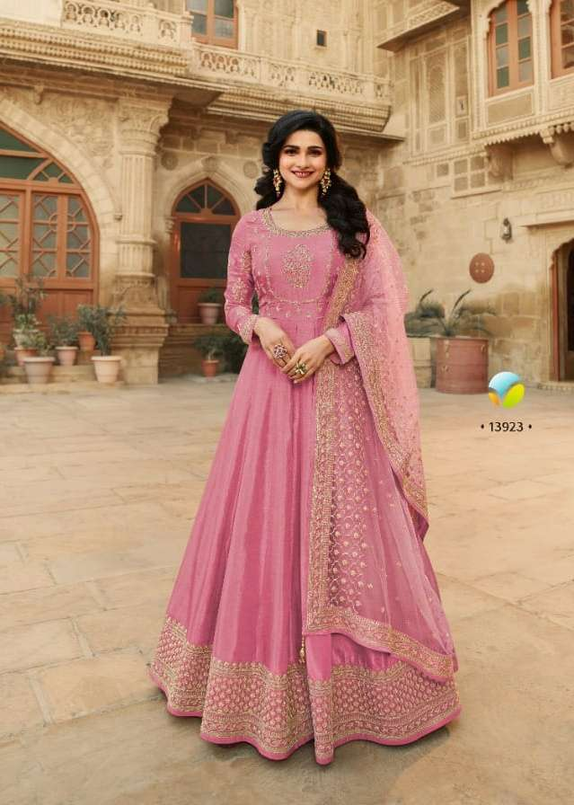 Vinay Parimahal Hitlist Dola Silk Party Wear Fancy Suits