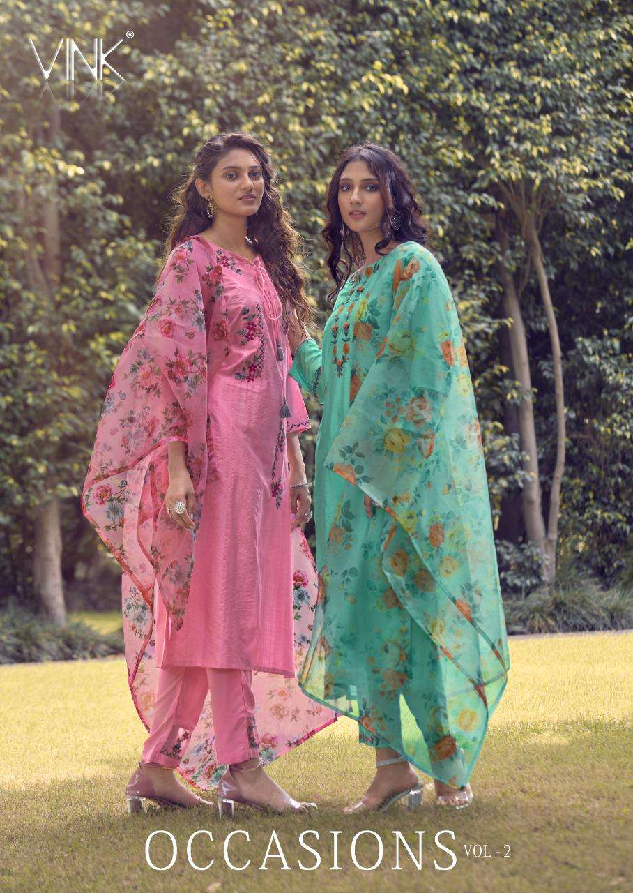 Vink Occasions Vol 2 Designer Fancy Readymade Salwar Suit