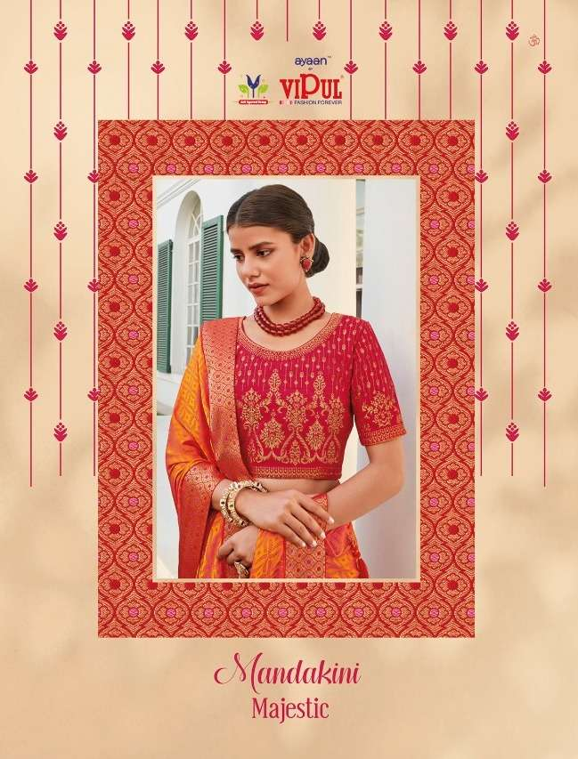 Vipul Mandakini Majestic Designer Latest Saree Collection