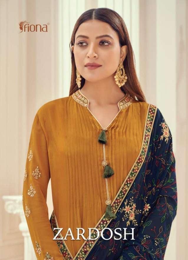 Zardosh By Fiona Ethnic Style Fancy Suits