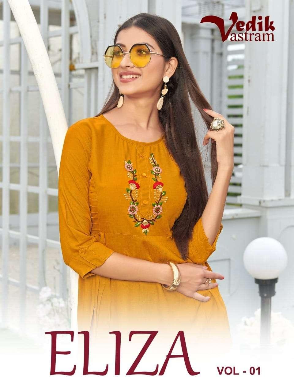 Eliza Vol 1 By Vedik Vastram short tops collection