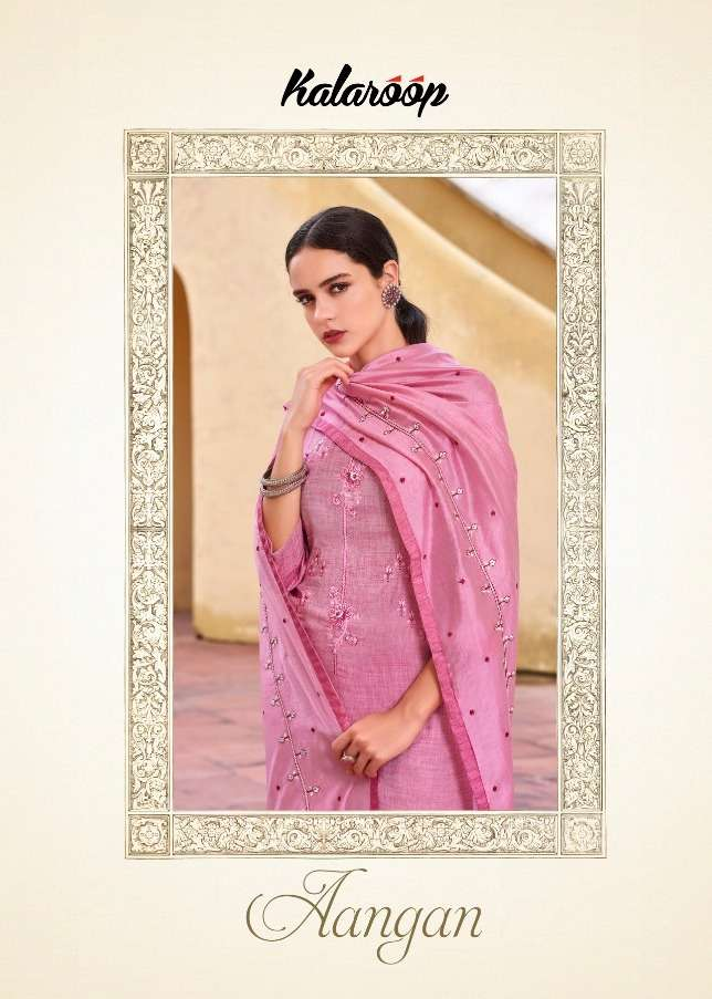 Aangan By Kalaroop Readymade Casual Wear Salwar Kameez