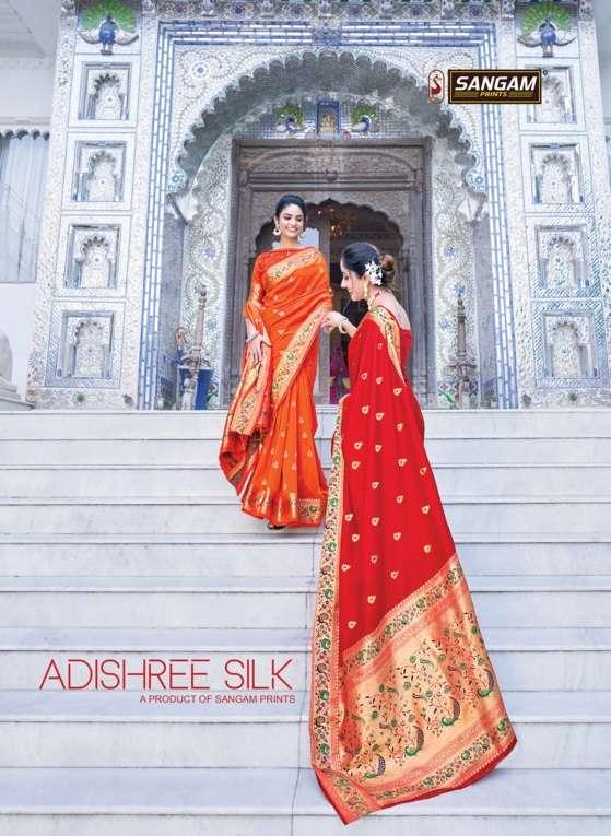Adishree Silk By Sangam Designer Paithani Silk Sari Supplier