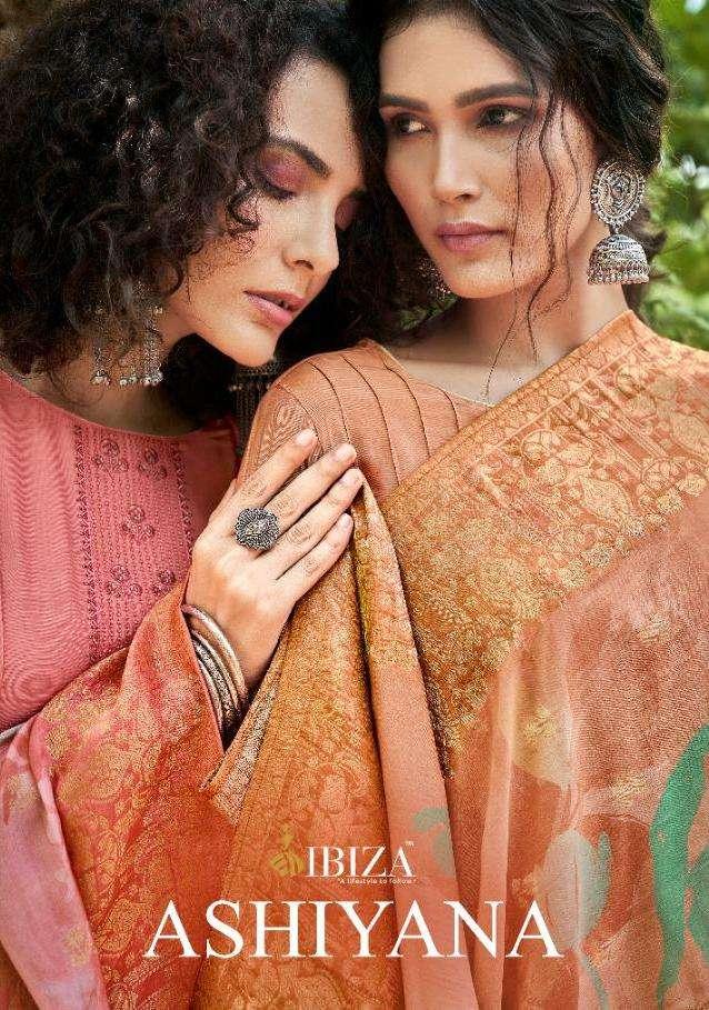 Ashiyana By Ibiza Muslin Silk Designer Salwar Kameez