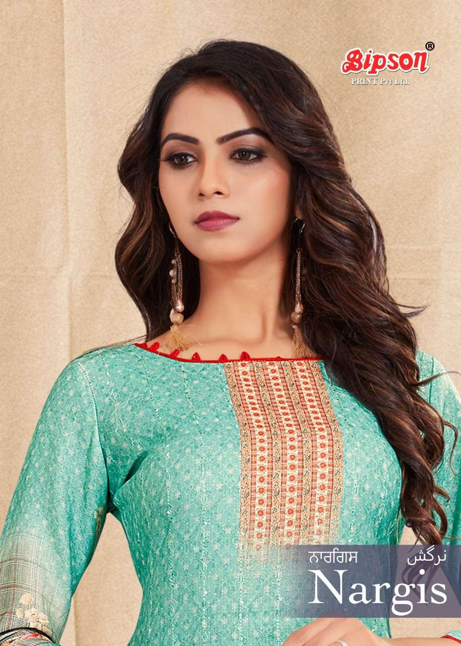 Bipson Nargis 1129 Pashmina Fancy Salwar Kameez