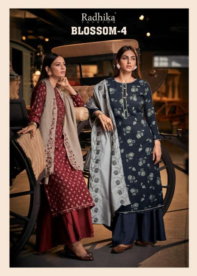 Blossom Vol 4 By Radhika Cotton Casual Wear Salwar Suits