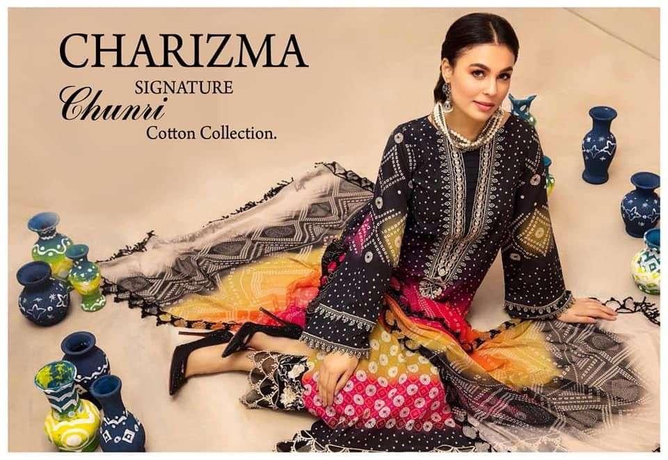 Charizma Signature Chunri Collection Cotton Suits