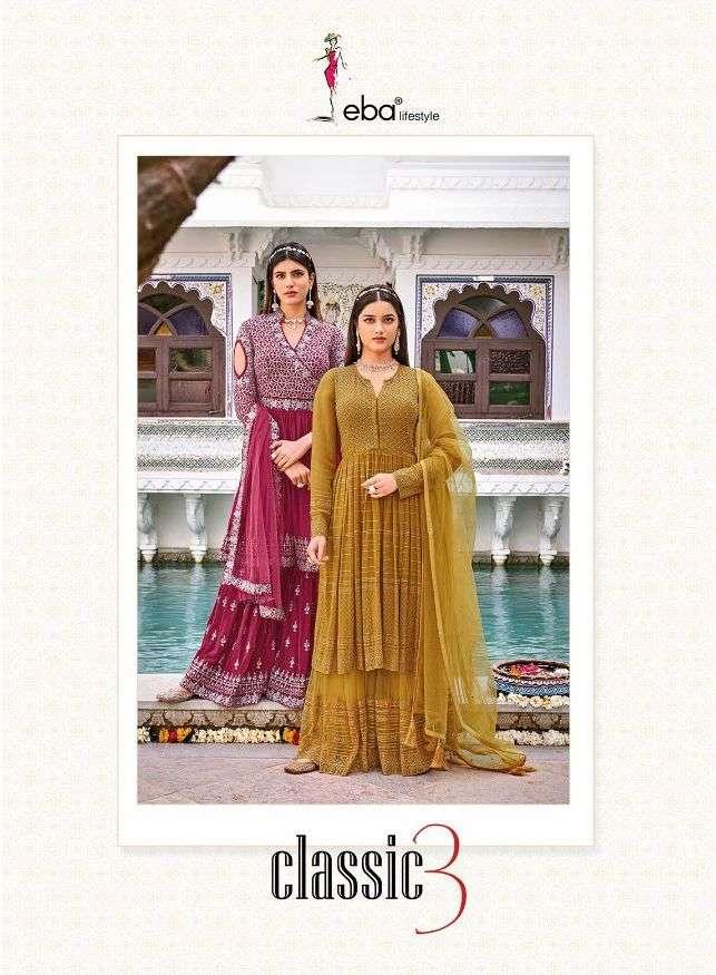 Classic Vol 3 By Eba Wedding Fancy Suit Supplier