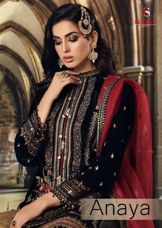 Deepsy Anaya Velvet Winter Wear Pakistani Suits