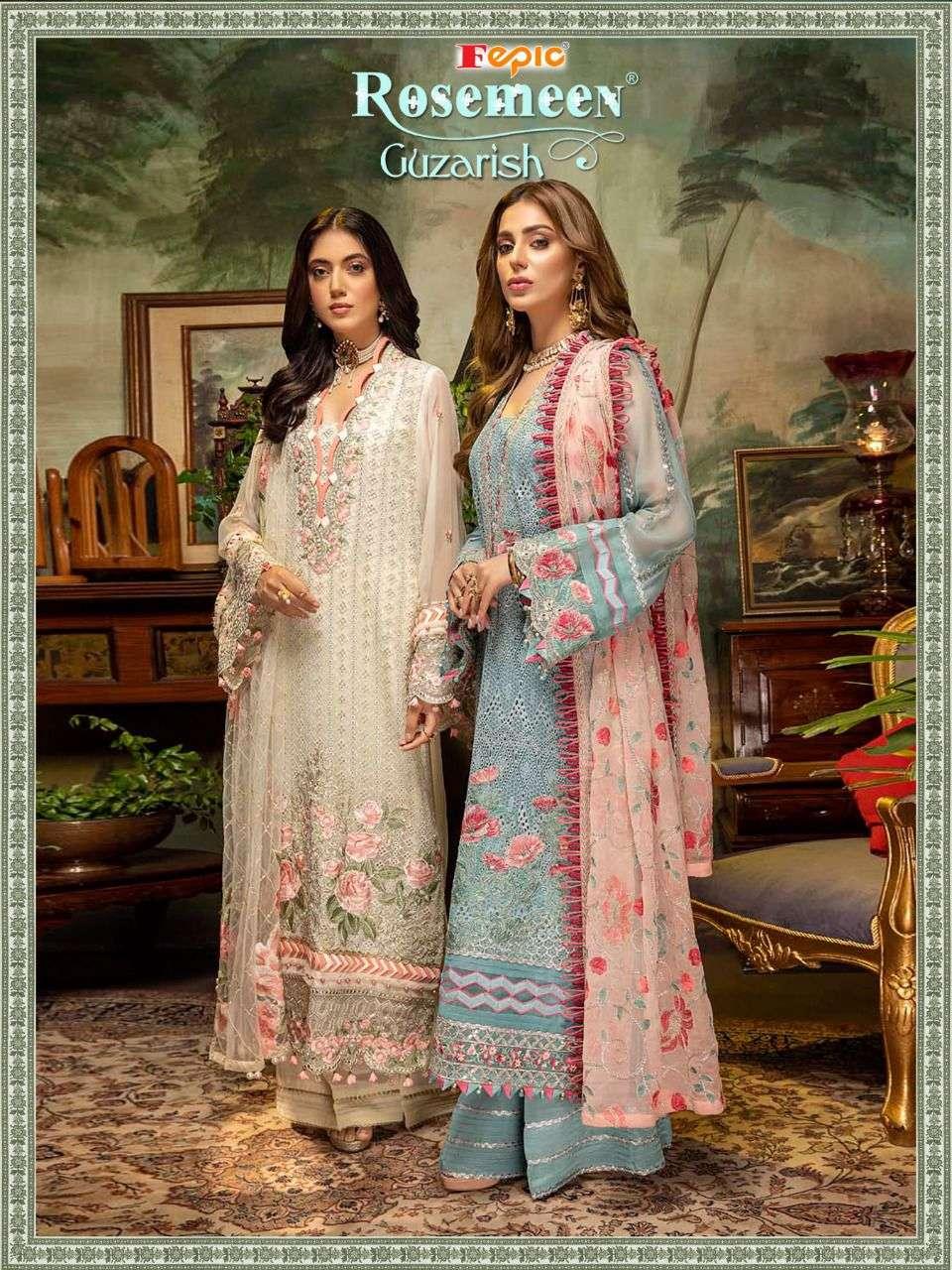 Fepic Guzarish Georgette Embroidery Pakistani Suits