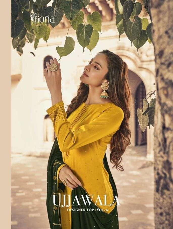 Fiona Ujjwala Vol 6 Exclusive Silk Fancy Salwar Kameez