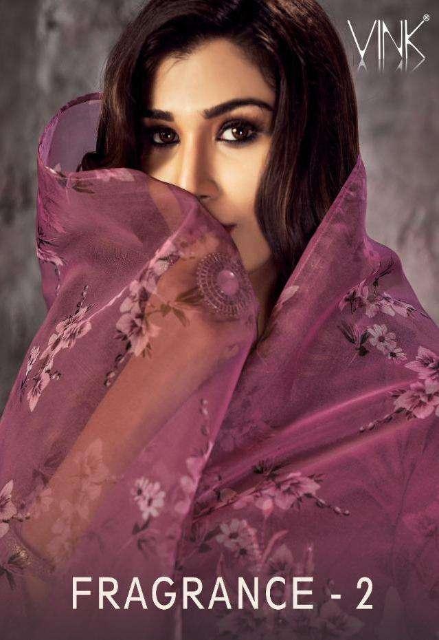 Fragrance Vol 2 By Vink Silk Organza Readymade Fancy Salwar Kameez