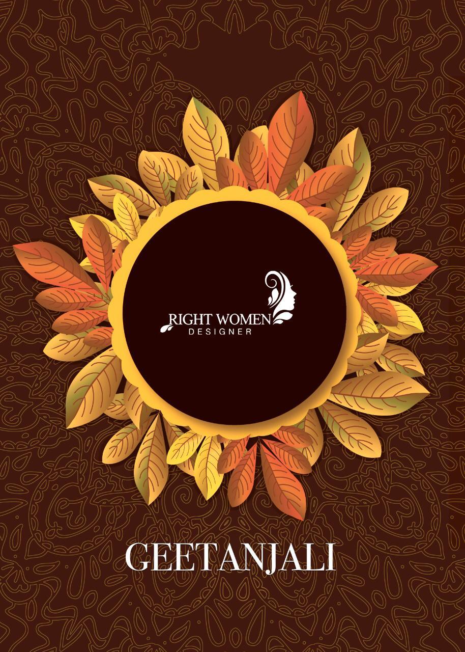 Geetanjali By Right Women Designer Vichitra With Rich Pallu Saree Wholesale Price