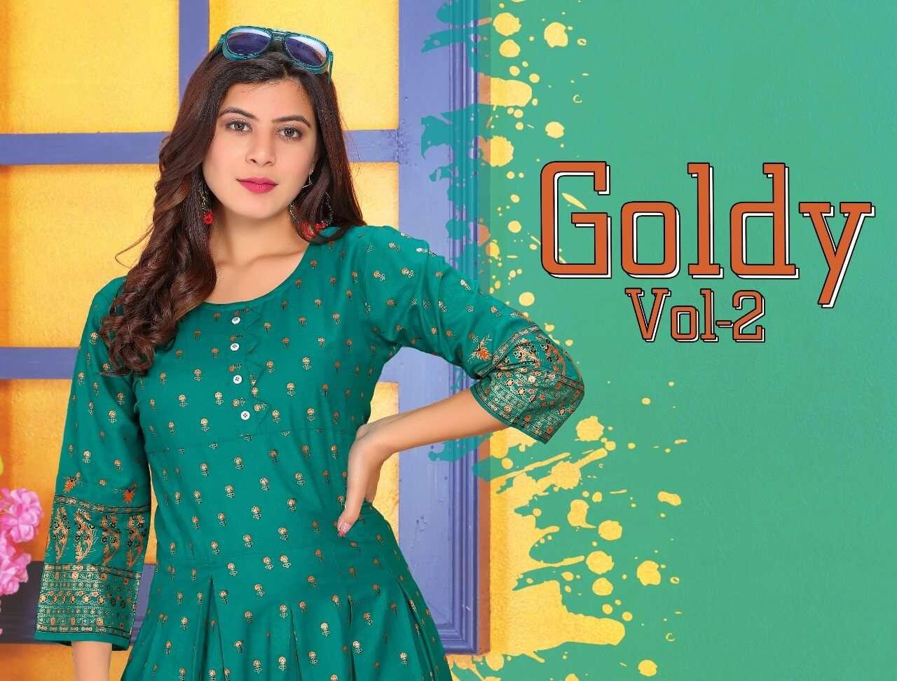 Goldy Vol 2 A- Line ( Ghera )