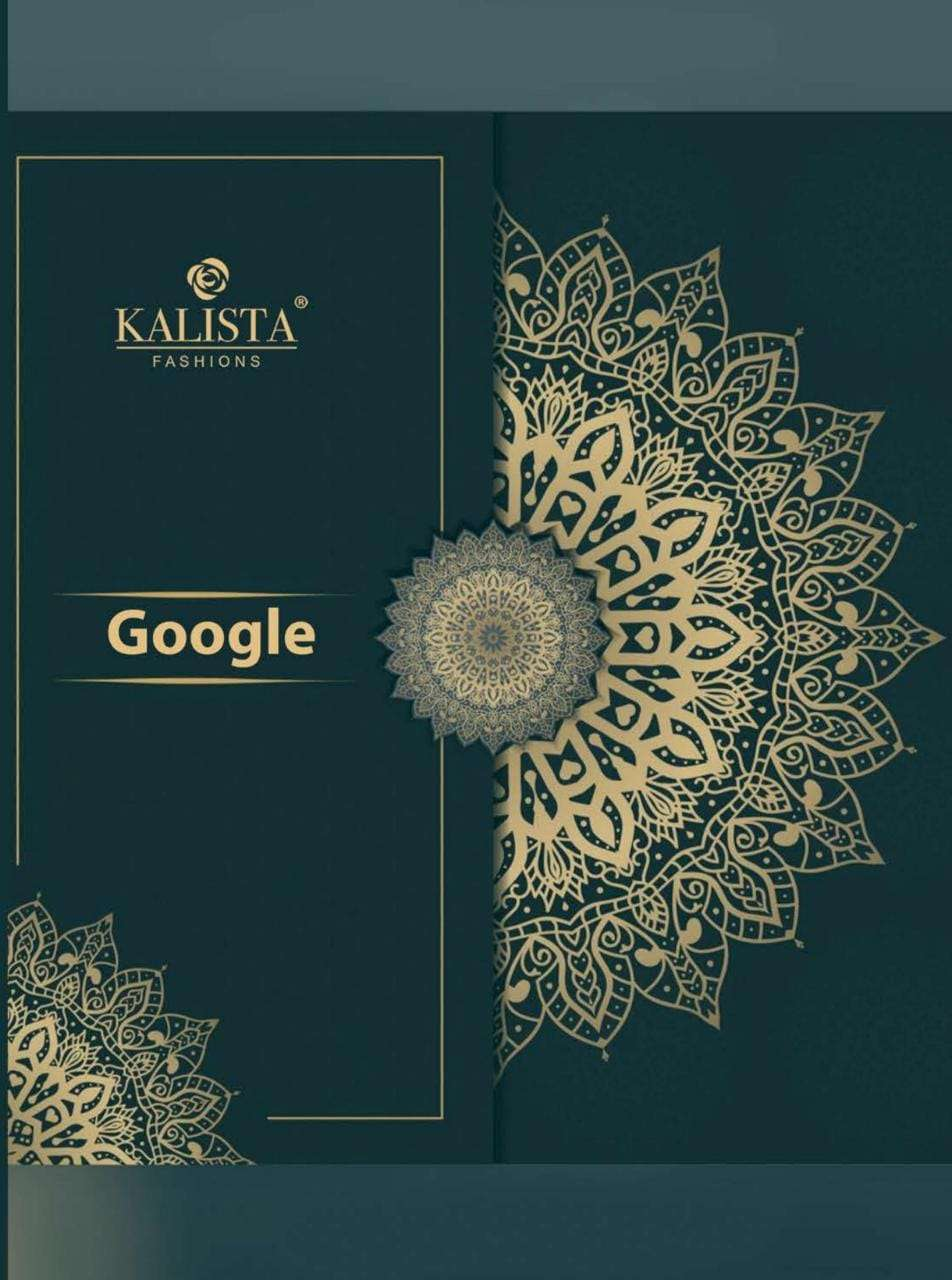 Google By Kalista Imported Fancy Saree Supplier