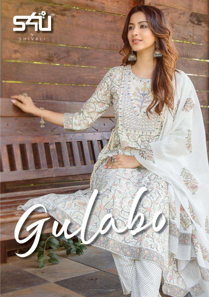 Gulabo Vol 2 By S4u Rayon Cotton Readymade Suits Collection
