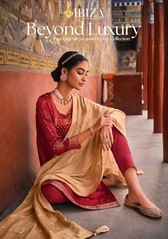 Ibiza Beyond Luxury Gajji Silk Designer Salwar Kameez