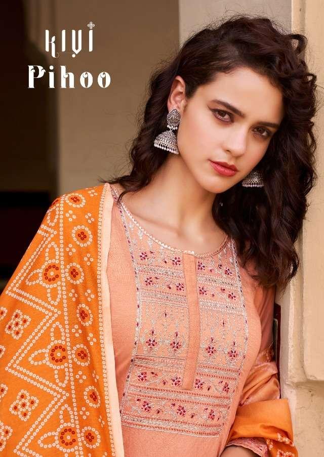 Kalaroop Pihoo Readymade Casual Fancy Suits
