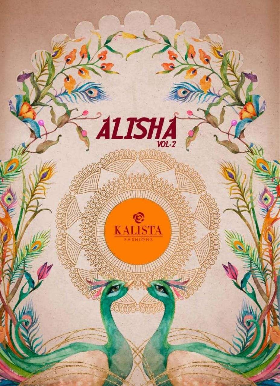 Kalista Alisha Vol 2 Designer Fancy Saree Wholesaler