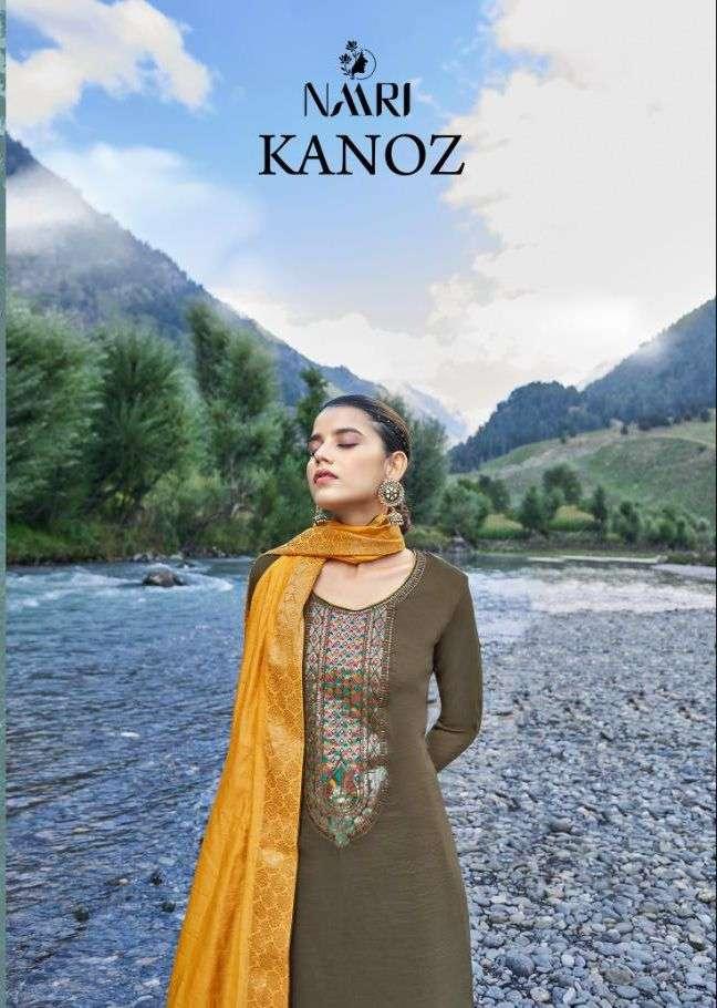 Kanoz By Naari Silk Designer Fancy Suits