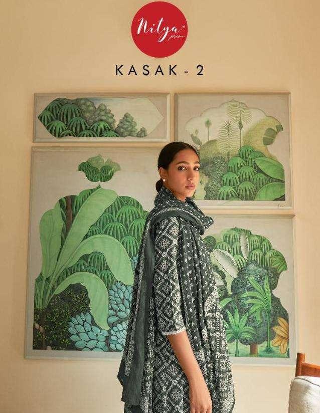 Kasak Vol 2 By Lt Fabrics Surat Kurti With Dupatta Set