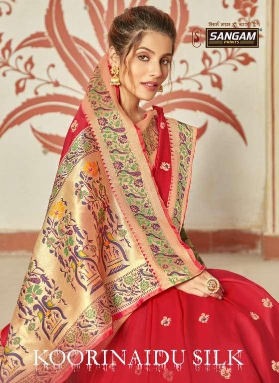 Koorinaidu Silk By Sangam Designer Paithani Silk Sari Supplier