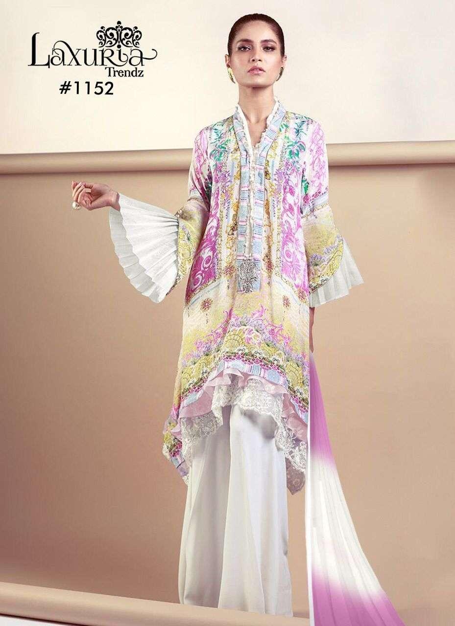 Laxuria 1152 Pakistani Full Stitch Salwar Kameez