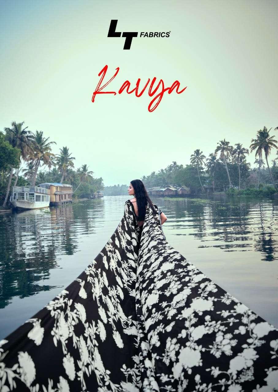 Lt Kavya Silk Printed Fancy Saree Wholesaler