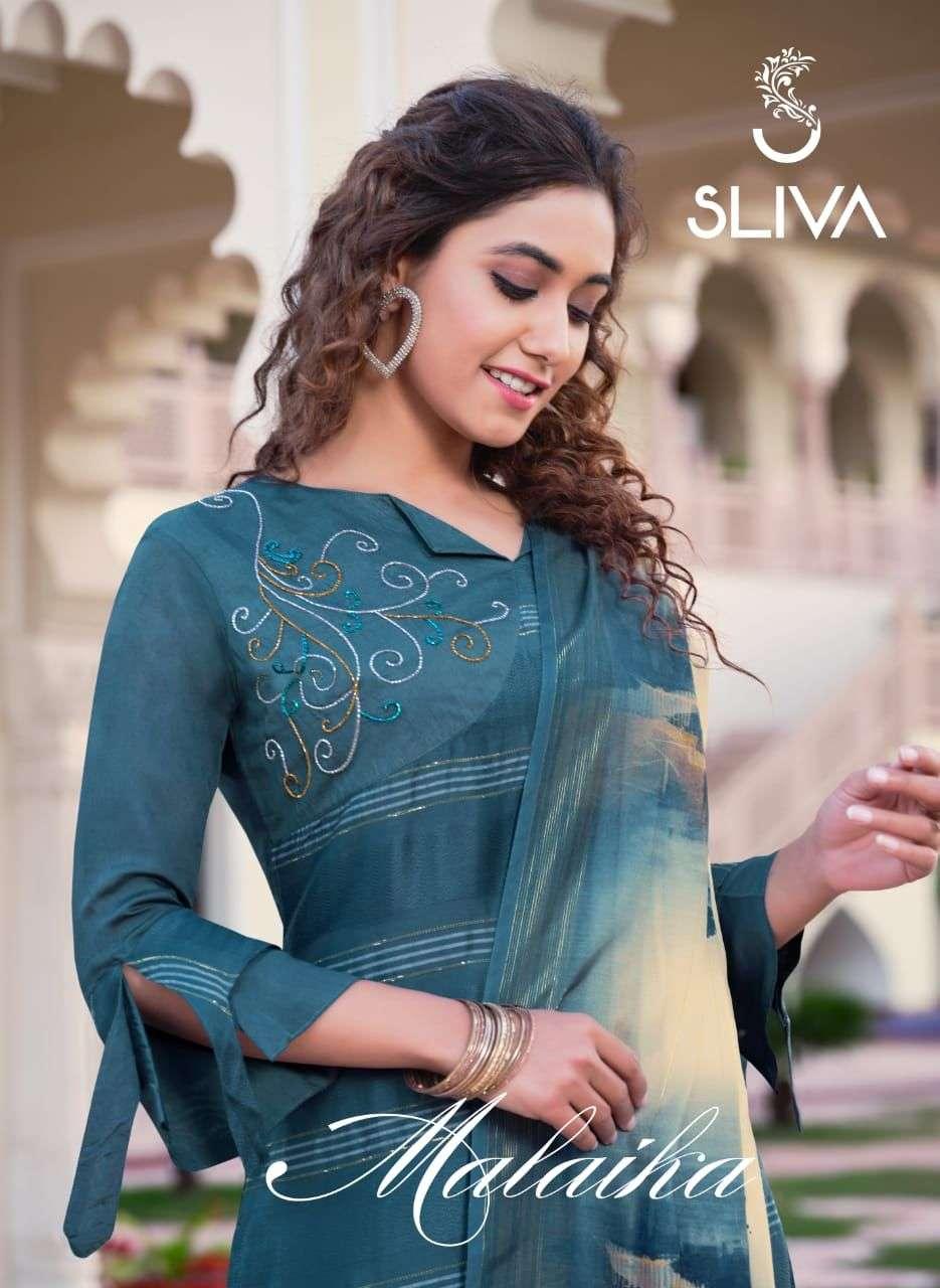 Malaika By Sliva Readymade Party Wear Salwar Kameez