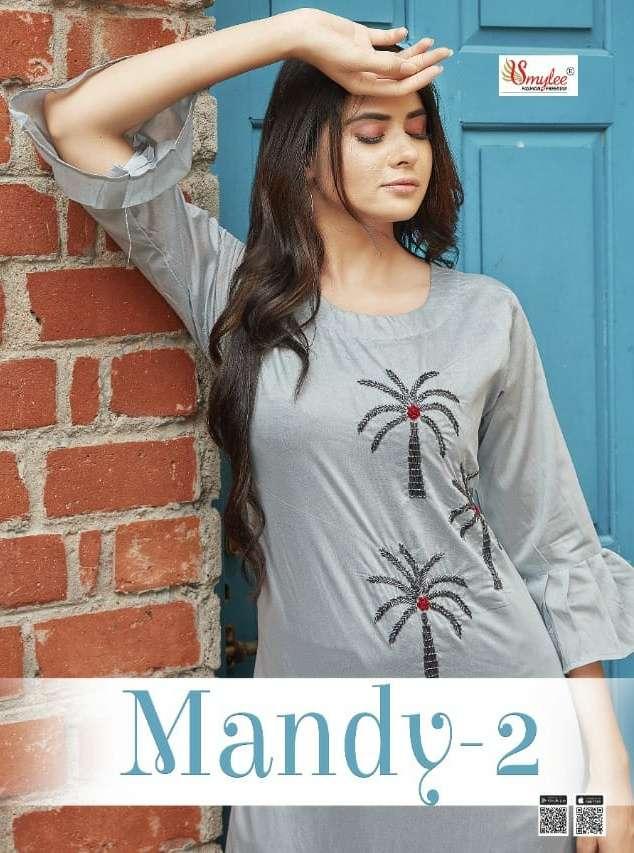 Mandy Vol 2 By Rung Modal Silk Casual Kurti Supplier