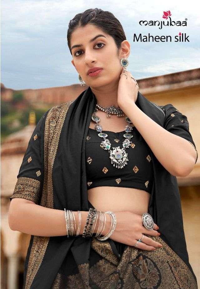 Manjubaa Maheen Silk Banarasi Silk Designer Saree