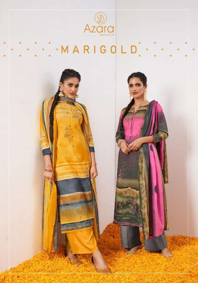 Marigold By Radhika Cambric Cotton Fancy Dress Materials