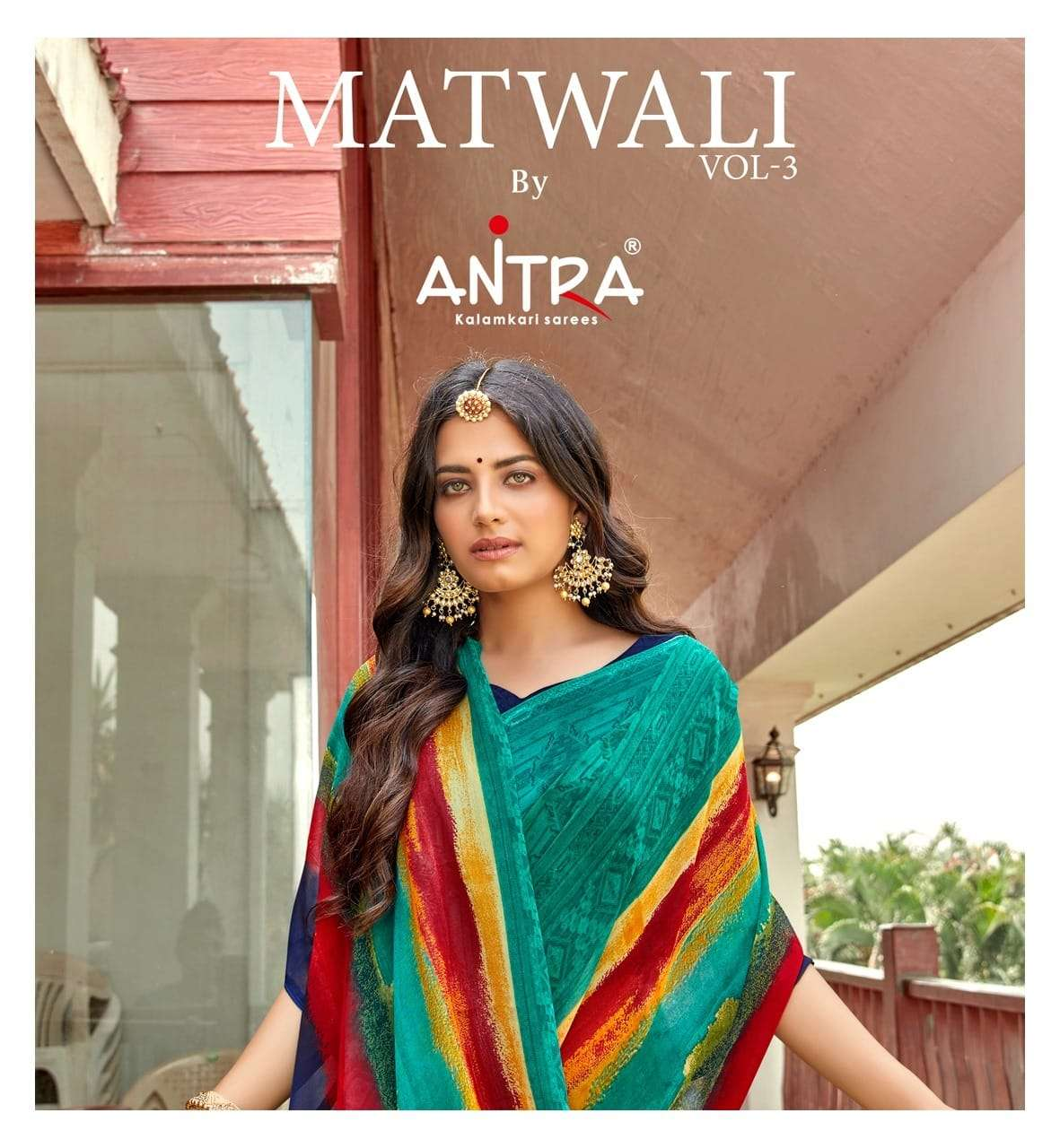 Matwali Vol 3 By Antra Weightless Printed Sarees