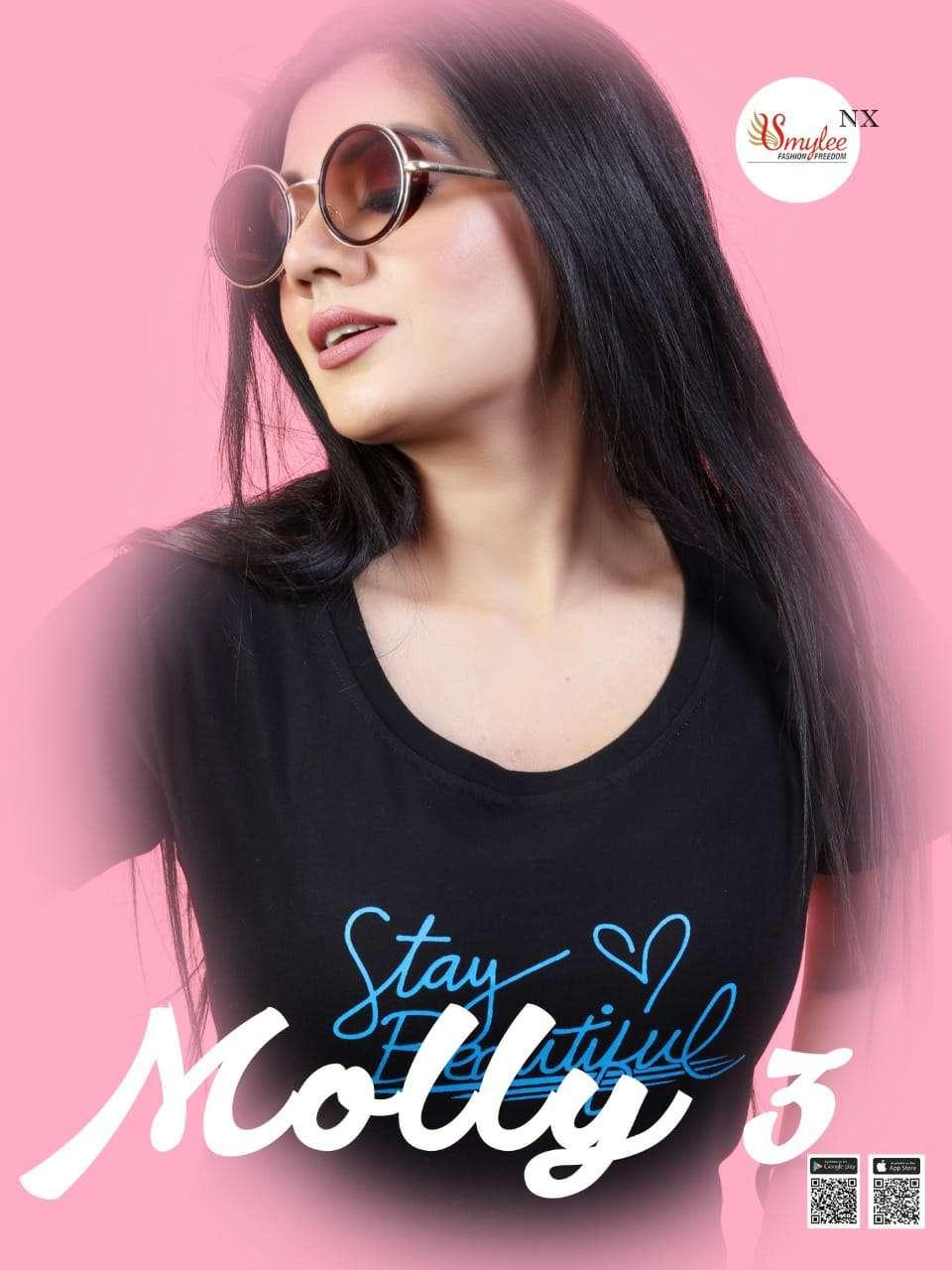 Molly Vol 3 By Rung Ladies Fancy T Shirt