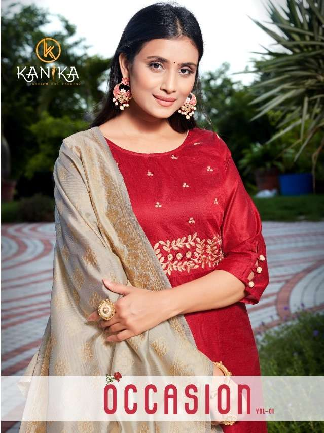 Occasion Vol 1by Kanika Kurtis With Duptta