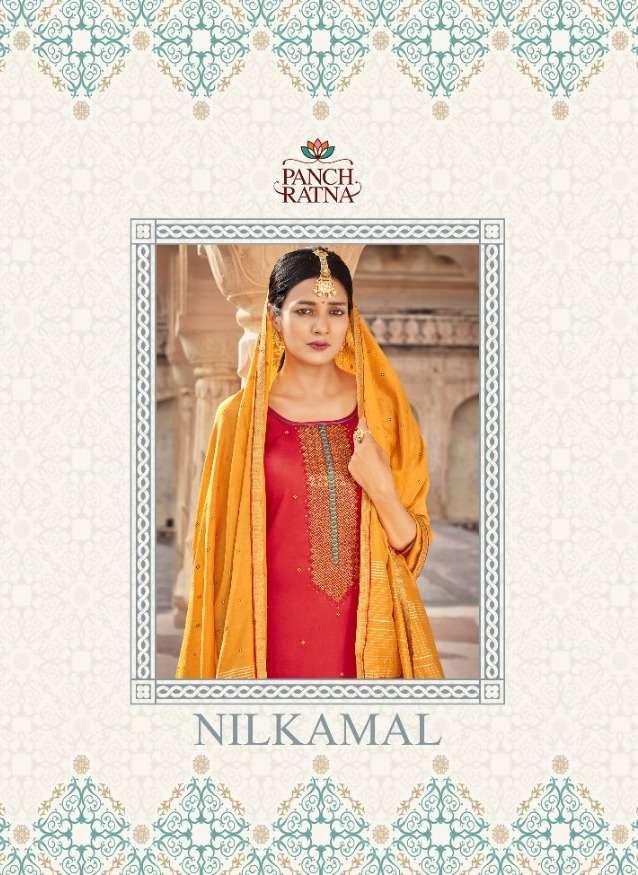 Panch Ratna Nilkamal Jam Silk Fancy Dress Materials