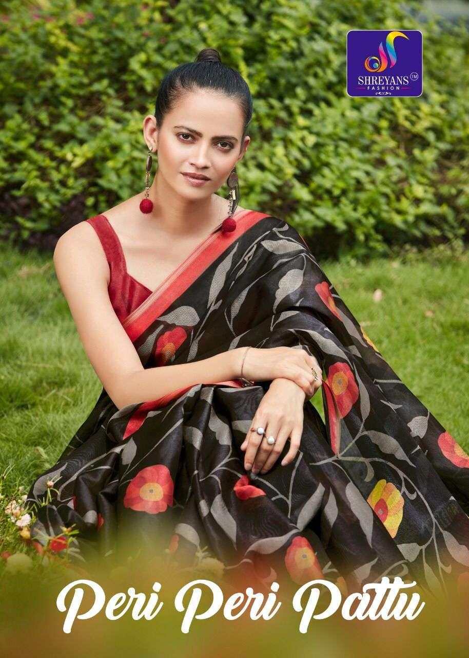 Peri Peri Pattu By Shreyans Cotton Saree Exports
