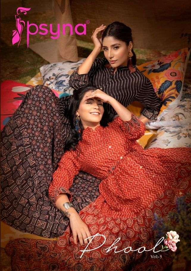 Phool Vol 5 By Psyna Readymade Gown Exports