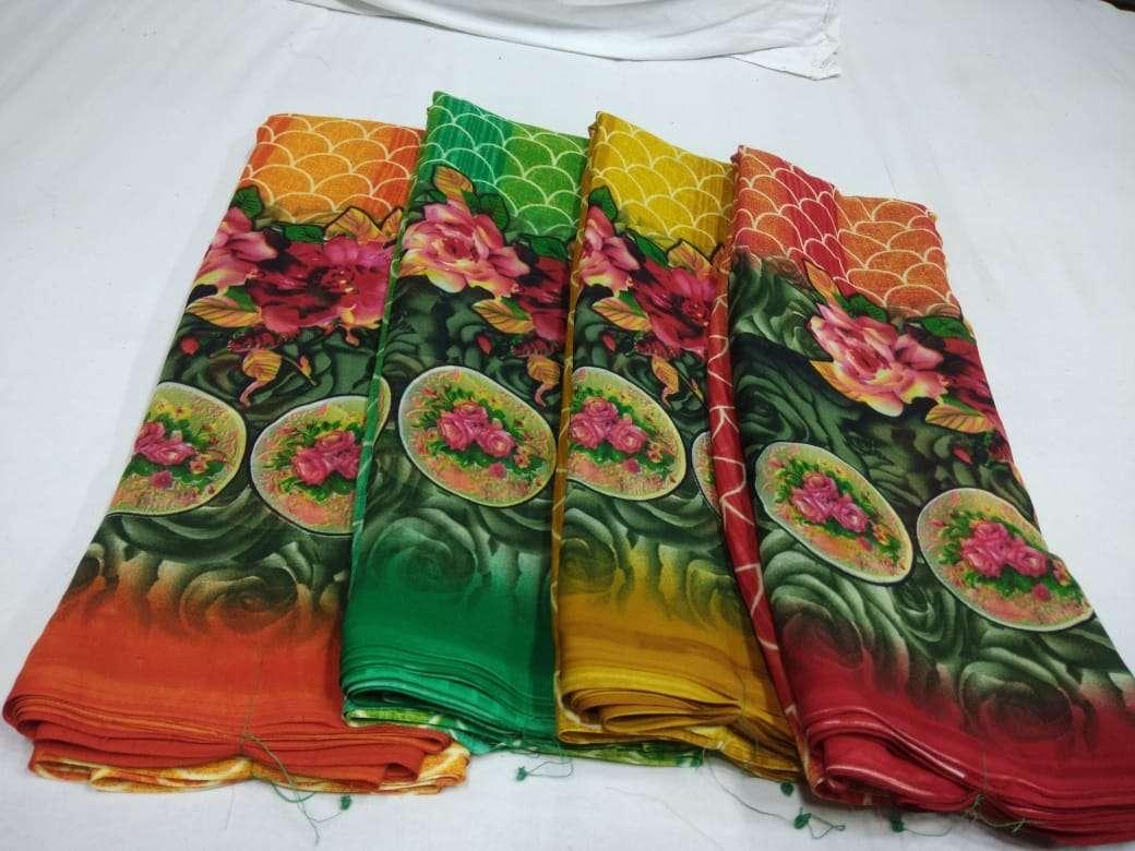 Poonam Sarees Wholesaler Printed Saris