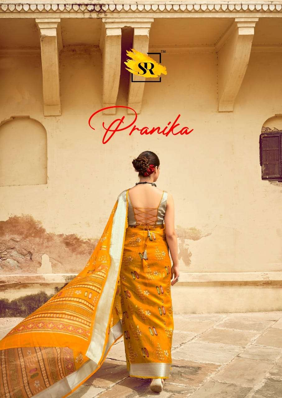 Pranika By Sr Brand Authorized Saree Supplier