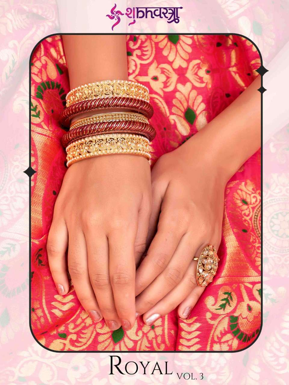 Product By Shubhvastra Royal Vol. 3 Designer Banarasi Silk Saree Collection