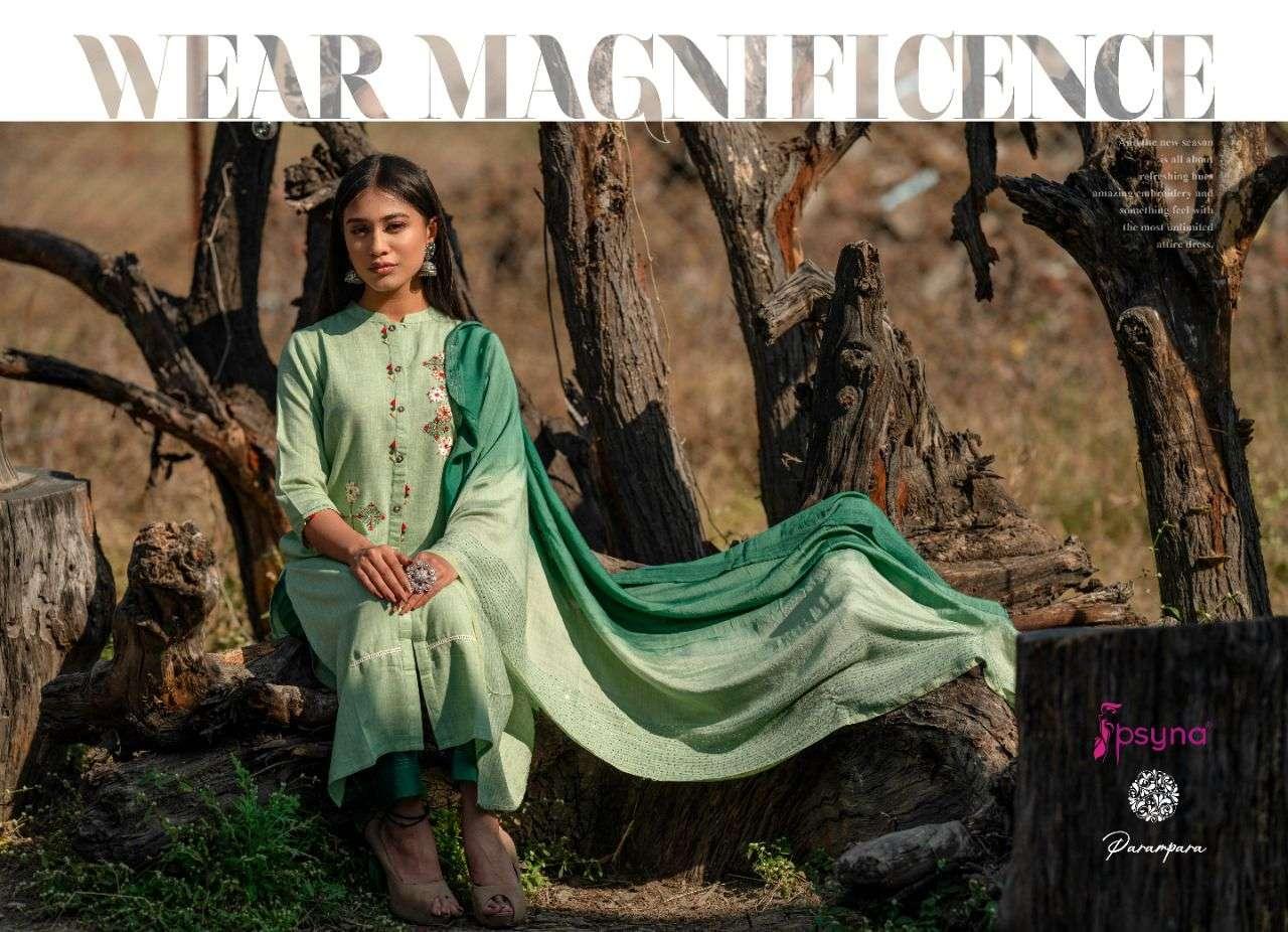 Psyna Parampara Readymade Designer Indian Suits