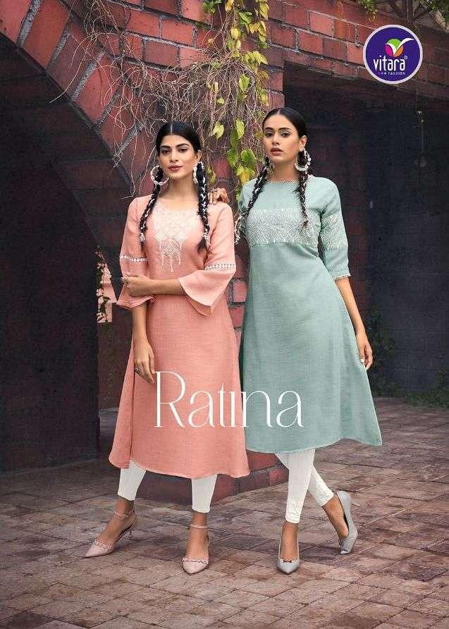 Ratina By Vitara Fully Stitched Ladies Kurtis Exports