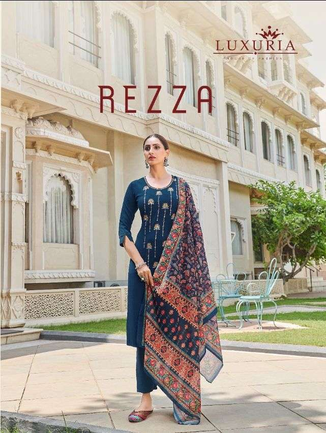 Rezza By Luxuria Readymade Suits Online Supplier