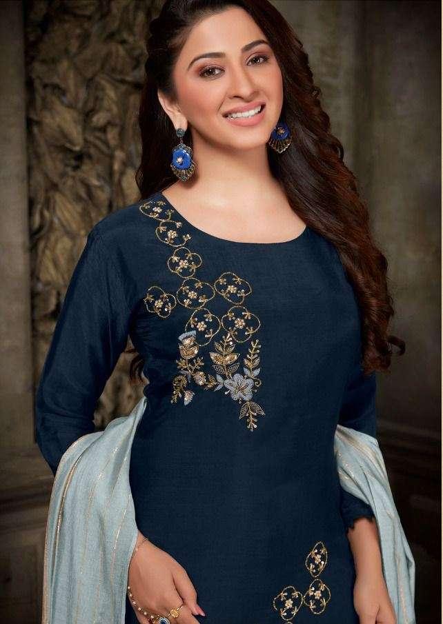 Sangeet Vol 2 Designer Kurti Pant With Duppata By Anju Fabric