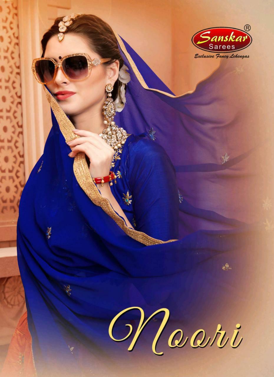 Sanskar Style Noori Silk Traditional Wear Lehanga Wholesaler