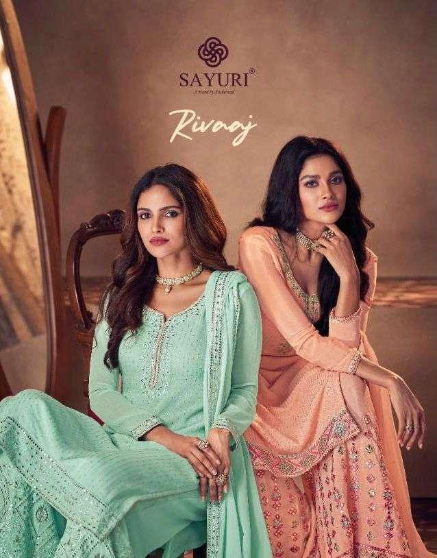 Sayuri Rivaaj Party Wear Fancy Suits Wholesaler