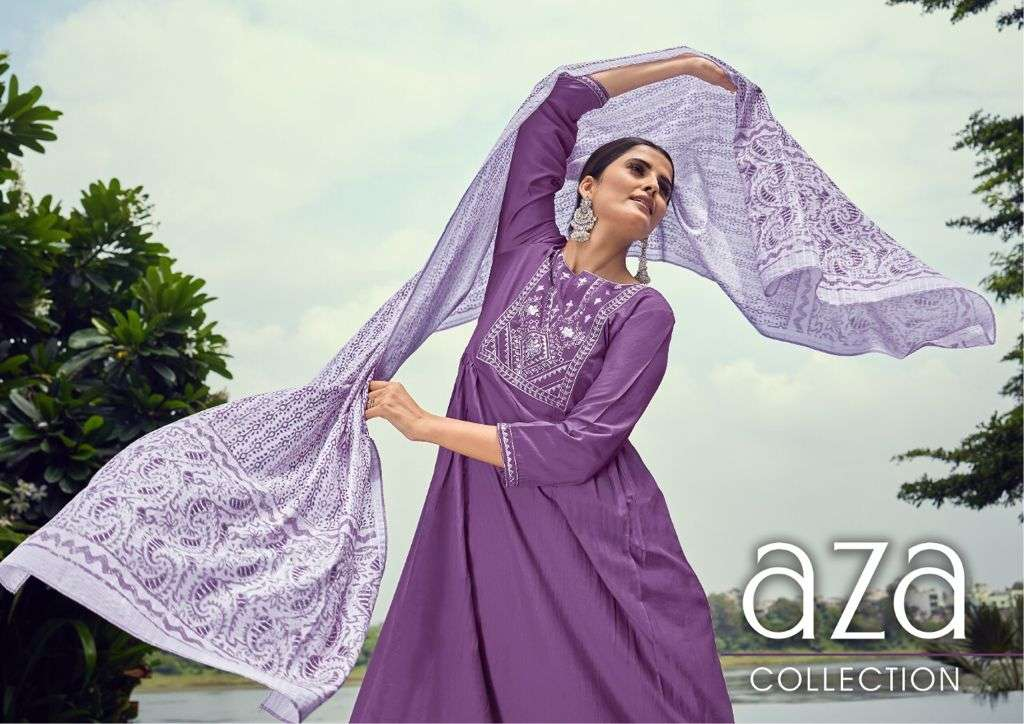 Shichi Present Aza Readymade Fancy A Line Suits