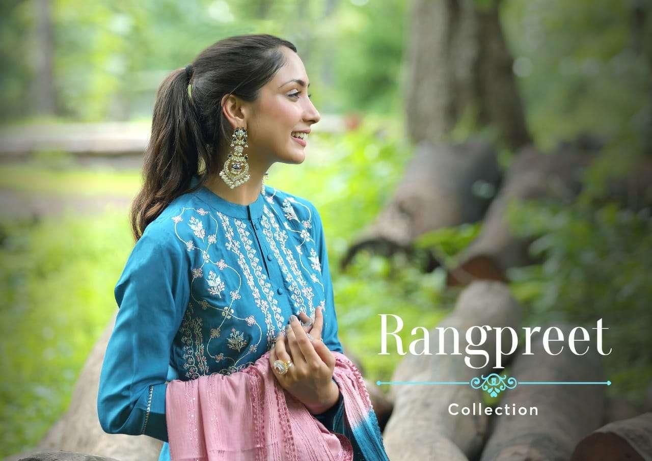Shichi Rangpreet Full Stitch Salwar Kameez Supplier