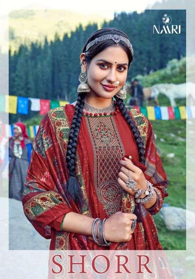 Shorr By Naari Silk Designer Fancy Suits